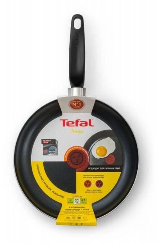 Сковорода Tefal Tempo 04171126 красный (9100024720) - фото 3