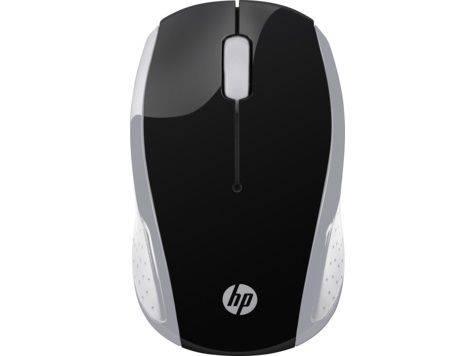 Мышь HP 200 Pk серебристый - фото 1