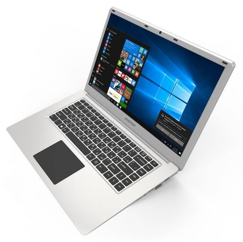 "Ноутбук 15.6"" Digma EVE 605 серебристый - фото 2"