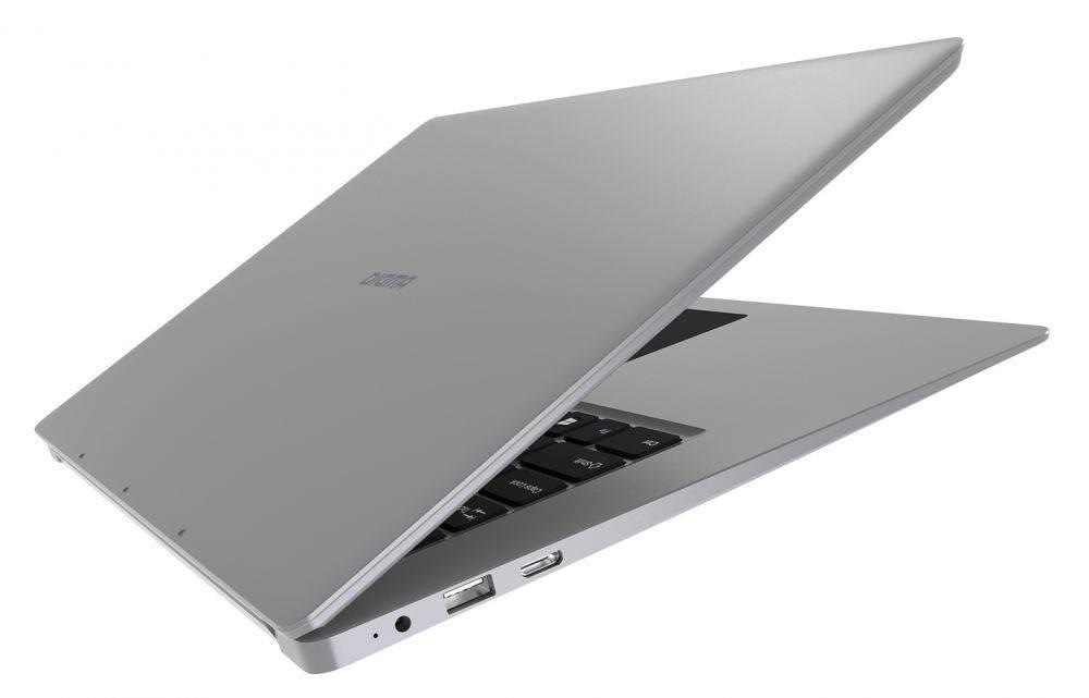 "Ноутбук 15.6"" Digma EVE 605 серебристый - фото 5"