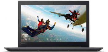 Ноутбук Lenovo IdeaPad 320-15IKBN, процессор Intel Core i3 7100U, оперативная память 6Gb, жесткий диск 1Tb, накопитель SSD 128Gb, привод DVD-RW, видеокарта nVidia GeForce 940MX 2Gb, диагональ 15.6, 1920x1080, Windows 10, черный (80XL03K6RK)