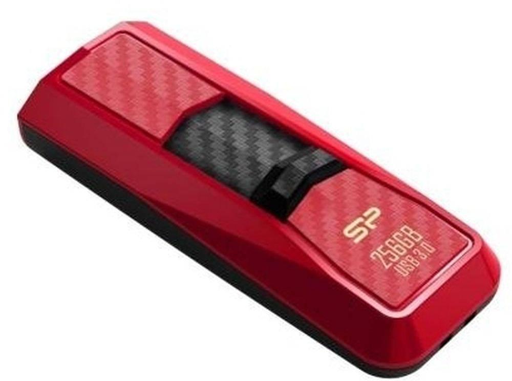 Флеш диск Silicon Power Blaze B50 256ГБ USB3.0 красный - фото 1