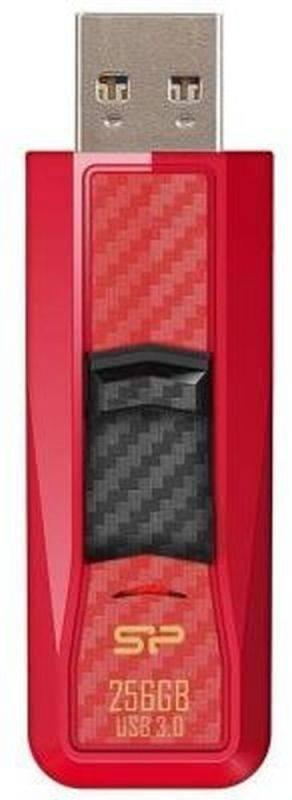 Флеш диск Silicon Power Blaze B50 256ГБ USB3.0 красный - фото 2