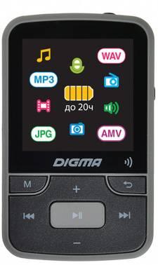 Плеер Digma Z4 BT 16ГБ черный (Z4)