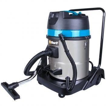 Строительный пылесос Bort BSS-2260-Twin синий (91272522)