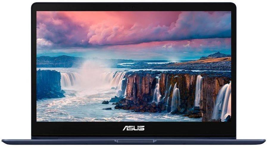 """Ноутбук 13.3"""" Asus Zenbook UX331UN-EG002T (90NB0GY1-M01930) синий - фото 1"""