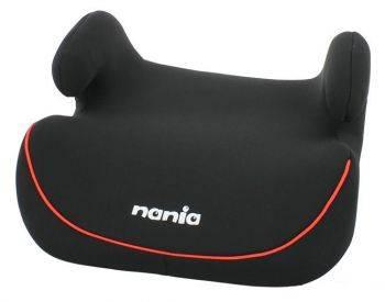 Бустер Nania Topo Comfort ECO (black red) черный / красный