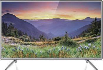 Телевизор LED BBK 32LEM-1042/TS2C темно-серебристый, диагональ экрана 32 (81.28 см), HD READY (720p), частота обновления 50Hz, тюнер DVB-T2, DVB-C, DVB-S2, USB разъем