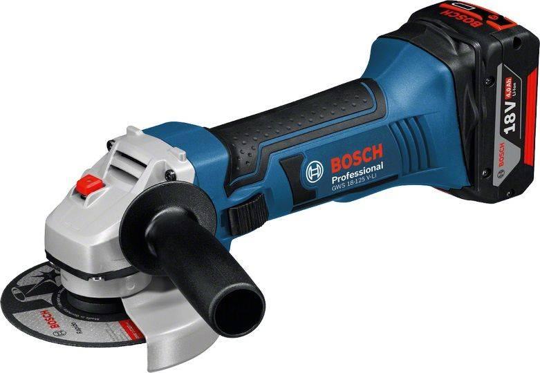 Угловая шлифмашина Bosch GWS 18-125 V-LI (060193A30B) - фото 1