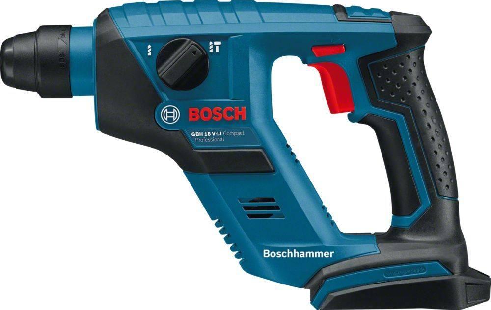Перфоратор Bosch GBH 18 V-LI Compact (0611905300) - фото 1