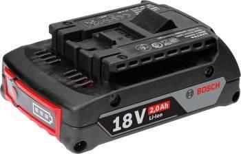 Батарея аккумуляторная Bosch GBA M-B Professional 18В 2Ач Li-Ion (1600Z00036)