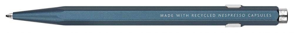 Ручка шариковая Carandache Office NESPRESSO Blue Darkhan (849.159) - фото 1