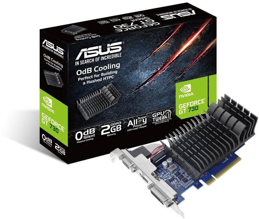 Видеокарта Asus GeForce GT 730 2048 МБ (GT730-SL-2G-BRK-V2) - фото 3