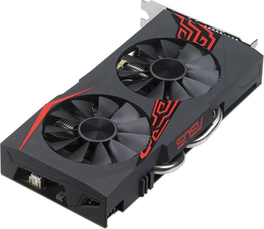 Видеокарта Asus Radeon RX 570 4096 МБ (EX-RX570-4G) - фото 2