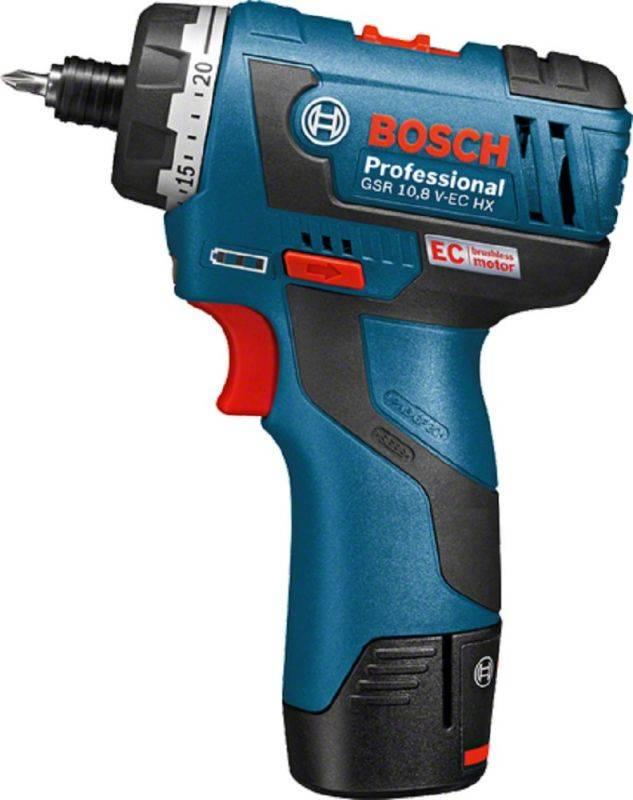 Шуруповерт Bosch GSR 10,8 V-EC HX (06019D4100) - фото 2