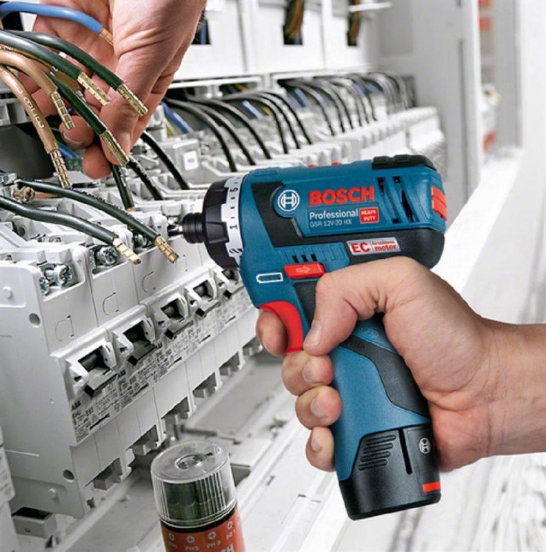 Шуруповерт Bosch GSR 10,8 V-EC HX (06019D4100) - фото 5