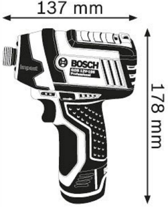 Ударный гайковерт Bosch GDR 10,8-LI (06019A6901) - фото 2