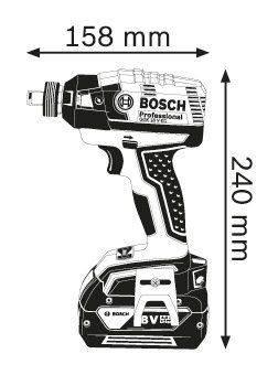 Ударный гайковерт Bosch GDX 18 V-EC (06019B9102) - фото 2
