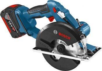 Циркулярная пила (дисковая) Bosch GKM 18 V-LI (06016A4001)