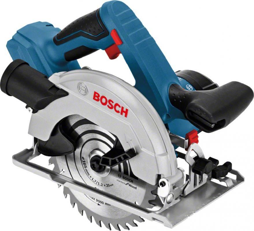 Циркулярная пила (дисковая) Bosch GKS 18V-57 (06016A2200) - фото 1