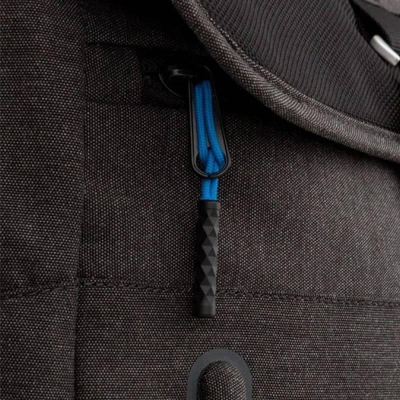"Рюкзак для ноутбука 15.6"" Dell Venture Backpack серый/черный (460-BBZP) - фото 6"
