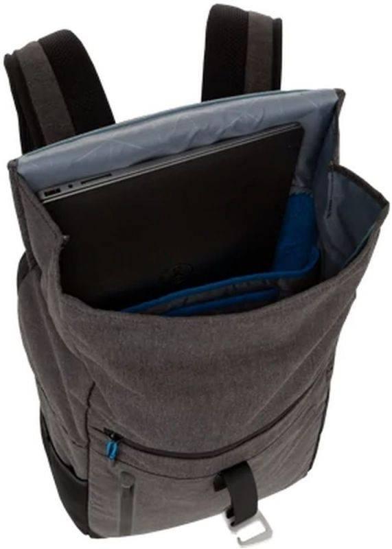 "Рюкзак для ноутбука 15.6"" Dell Venture Backpack серый/черный - фото 4"