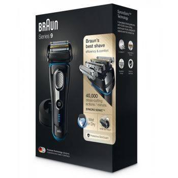 Электробритва Braun 9240s черный/синий (81634805)