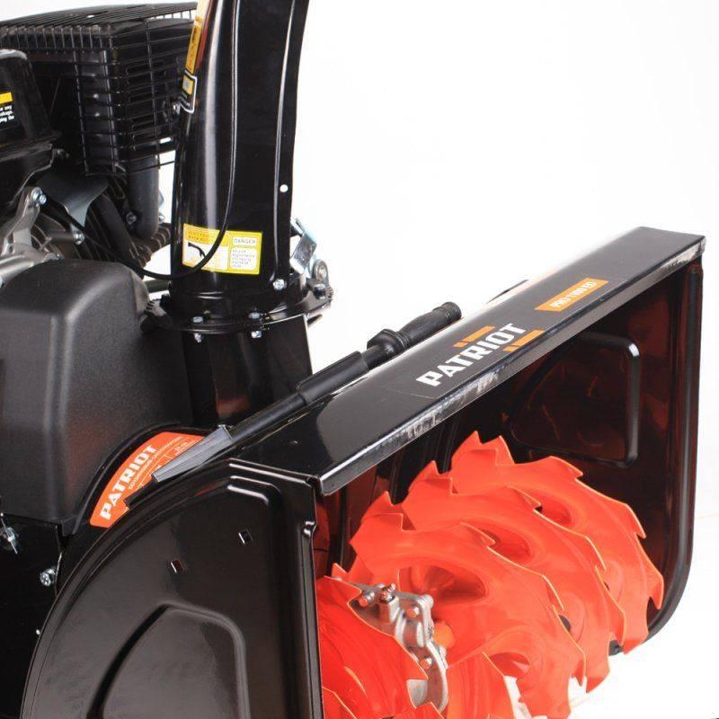 Снегоуборщик бензиновый Patriot PRO 1100 ЕD - фото 2