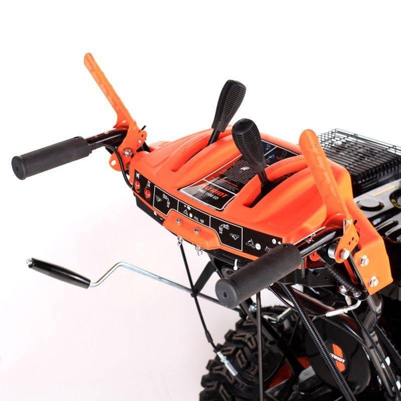 Снегоуборщик бензиновый Patriot PRO 1100 ЕD - фото 7