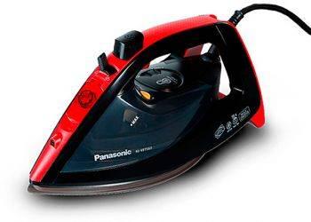 Утюг Panasonic NI-WT960RTW черный/красный
