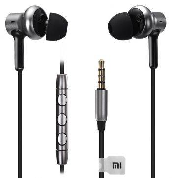 Гарнитура Xiaomi Mi in-Ear Pro HD серебристый/черный (zbw4369ty)