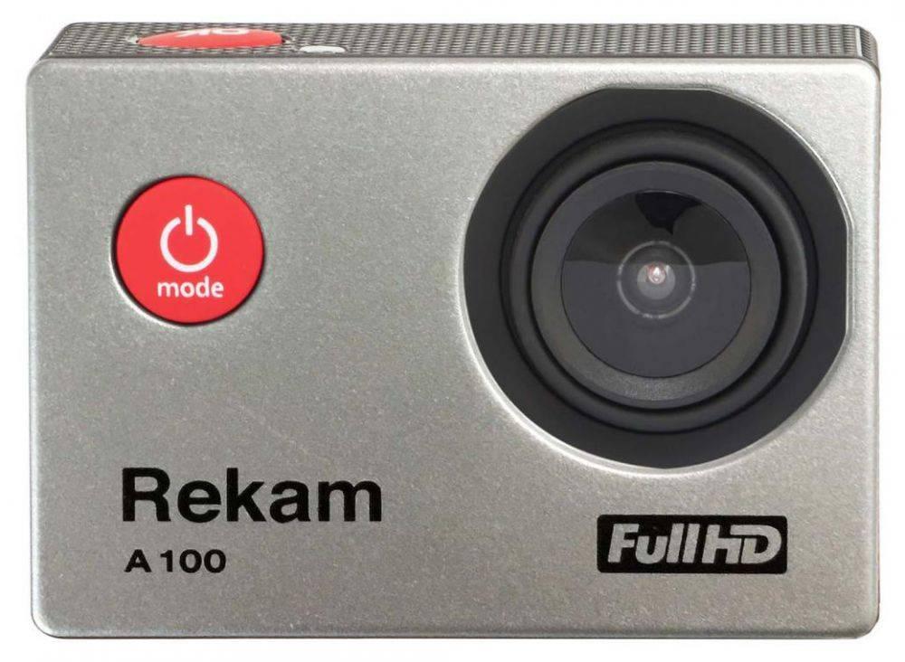 Экшн-камера Rekam A100 серебристый (2680000008) - фото 1