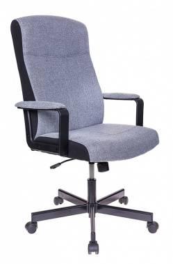 Кресло руководителя Бюрократ DOMINUS серый (DOMINUS-FG)