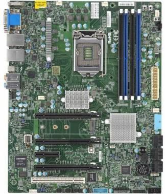 Серверная материнская плата Soc-1151 SuperMicro MBD-X11SAT-F-O ATX