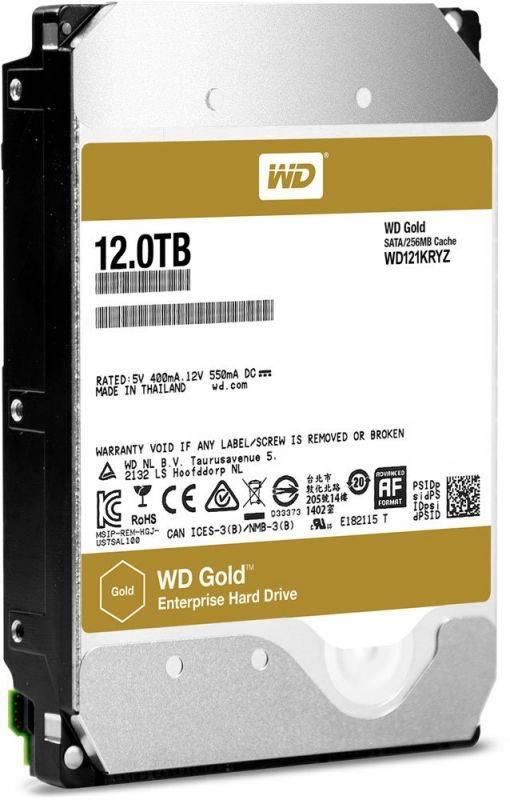 Жесткий диск 12Tb WD Gold WD121KRYZ SATA-III - фото 1