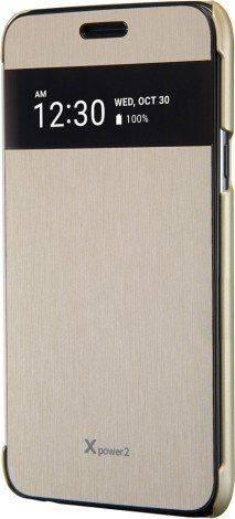 Чехол LG M320 VOIA, для LG X Power 2, золотистый - фото 1
