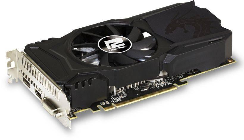 Видеокарта PowerColor Radeon RX 560 4096 МБ (AXRX 560 4GBD5-DHA) - фото 1