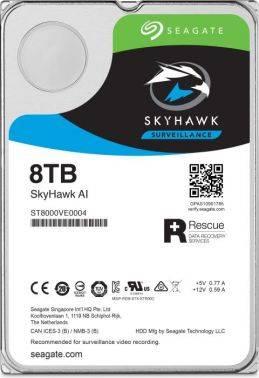 Жесткий диск 8Tb Seagate SkyHawkAI ST8000VE0004 SATA-III