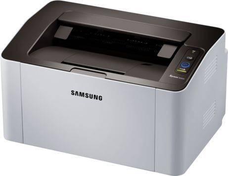 Принтер Samsung SL-M2020(XEV/FEV) белый/черный (SS271B) - фото 3