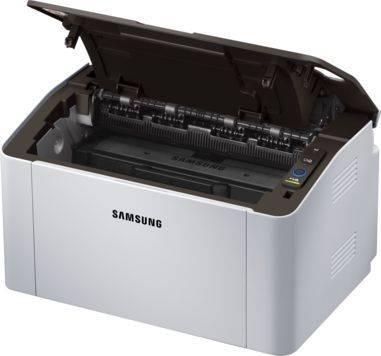 Принтер Samsung SL-M2020(XEV/FEV) белый/черный (SS271B) - фото 4