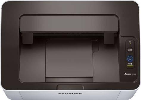Принтер SAMSUNG SL-M2020(XEV/FEV) белый/черный - фото 5