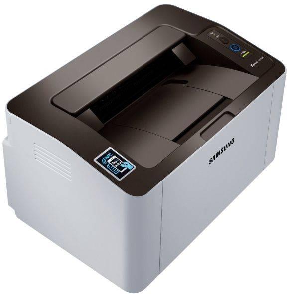 Принтер Samsung SL-M2020W серый/черный (SS272C) - фото 4