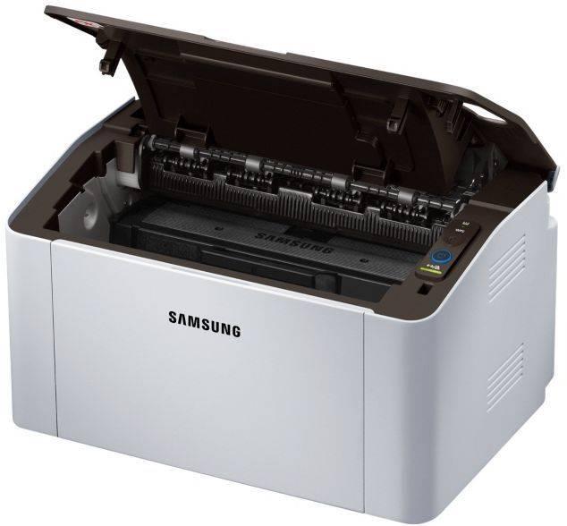 Принтер Samsung SL-M2020W серый/черный (SS272C) - фото 6