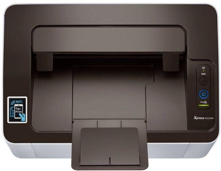 Принтер Samsung SL-M2020W серый/черный (SS272C) - фото 7