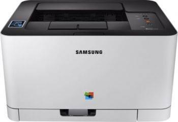 Принтер Samsung SL-C430W белый/черный (SS230M)