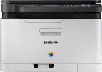 МФУ Samsung SL-C480W серый/черный (SS257L)