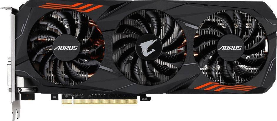 Видеокарта Gigabyte GeForce GTX 1070TI 8192 МБ (GV-N107TAORUS-8GD) - фото 2