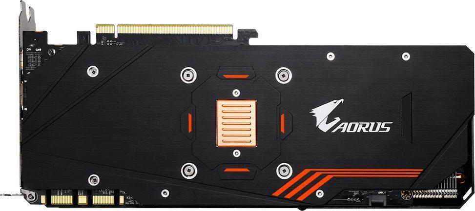Видеокарта Gigabyte GeForce GTX 1070TI 8192 МБ (GV-N107TAORUS-8GD) - фото 3