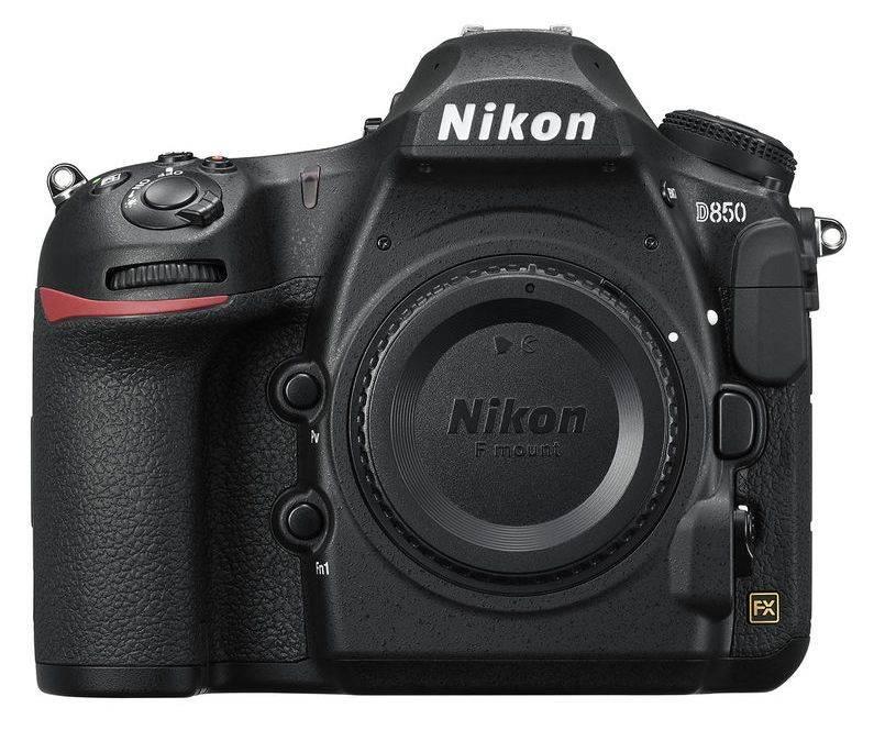 Фотоаппарат Nikon D850 BODY черный (VBA520AE) - фото 1