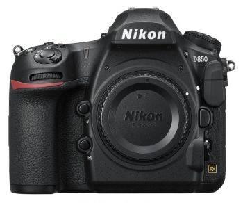Фотоаппарат Nikon D850 BODY черный (VBA520AE)